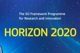 Imagem: Logomarca do programa de pesquisa e inovação da União Europeia