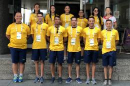 Imagem: O Gymnarteiros é o grupo de ginástica geral do Instituto de Educação Física e Esportes (IEFES) (Foto: divulgação)