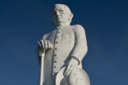 Imagem: Estátua do Padre Cícero, um dos ícones da Região do Cariri, onde estão localizados campi da Ufca (Foto: Jr. Panela)