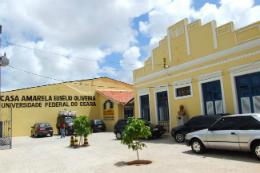 Imagem: Casa Amarela Eusélio Oliveira, equipamento cultural da UFC (Foto: Divulgação)