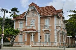 Imagem: A Casa de Cultura Alemã fica no Campus do Benfica (Foto: CCSMI/UFC)