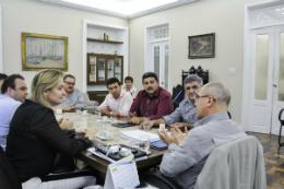 Imagem: O encontro ocorreu com prefeitos da região da Serra da Ibiapaba (Foto: Ribamar Neto)