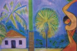 Imagem: A mostra consta de 18 pinturas em óleo sobre tela do francês Esteban Ubretgi (Foto: Divulgação/CJA)
