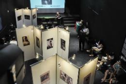 Imagem: Exposição interativa comemorou 50 anos do TU nos dias 25 e 26 de junho (Foto: Ribamar Neto)