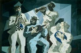 Imagem: Reprodução de um quadro de Candido Portinari, representando um grupo de choro