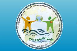 Imagem: Logomarca do 1º Congresso Internacional da Red Latino-Americana de Universidades com Formação em Psicomotricidade
