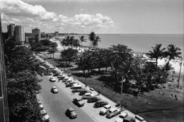 Imagem: Praia do Náutico tirada de cima de um prédio