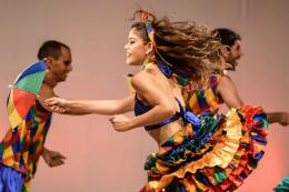 Imagem: Grupo Oré Anacã, sediado no Iefes/UFC, integra o Programa de Promoção da Cultura Artística (Foto: Cláudio Etges)