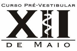 Imagem: Logo do curso Pré-Vestibular XII de Maio (Imagem: Divulgação)