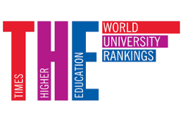 Imagem: Logo do ranking internacional Times Higher Education (THE)