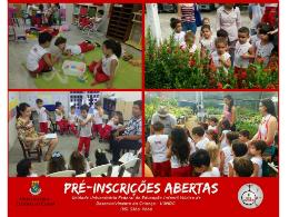 Imagem: O Núcleo de Desenvolvimento de Criança é vinculado ao CCA (Foto:Divulgação)