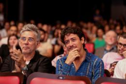Imagem: O ator Jesuíta Barbosa compareceu à abertura (Foto: Arlindo Barreto)
