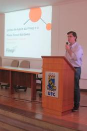 Imagem: Paulo Resende, da Financiadora de Estudos e Projetos (Finep), palestrou no evento (Foto: Divulgação/CCA)