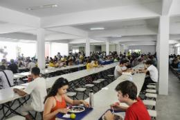 Imagem: edital para auxílio-alimentação emergencial disponibiliza 600 vagas distribuídas entre os campi de Fortaleza e do Interior (Foto: Ribamar Neto/UFC)