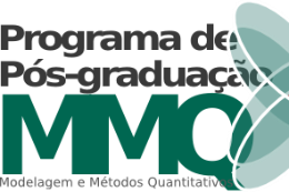 Imagem: Logomarca do Programa de Pós-Graduação em Modelagem e Métodos Quantitativos
