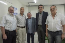 Imagem: Jerry Miller, Reindert Julius, Henry Campos, Eduardo Sávio e Edmo Campos