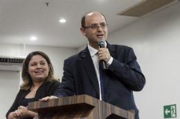 Imagem: Ministro da Educação, Rossieli Silva, discursando