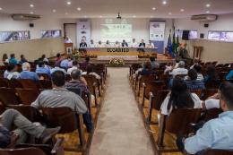 Imagem: Pesquisadores do Brasil, da China, dos Estados Unidos e de países da África participam da programação (Foto: Ribamar Neto/UFC)