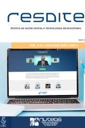 Imagem: Capa da revista com imagem de uma tela de computador