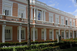 Foto da fachada da reitoria (Foto: Davi Pinheiro)