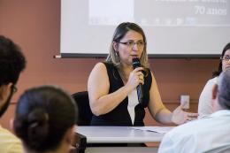 Foto da ex-diretora da BCS, Eliene Nascimento