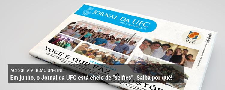 Clique e acesse a versão on-line do Jornal da UFC.