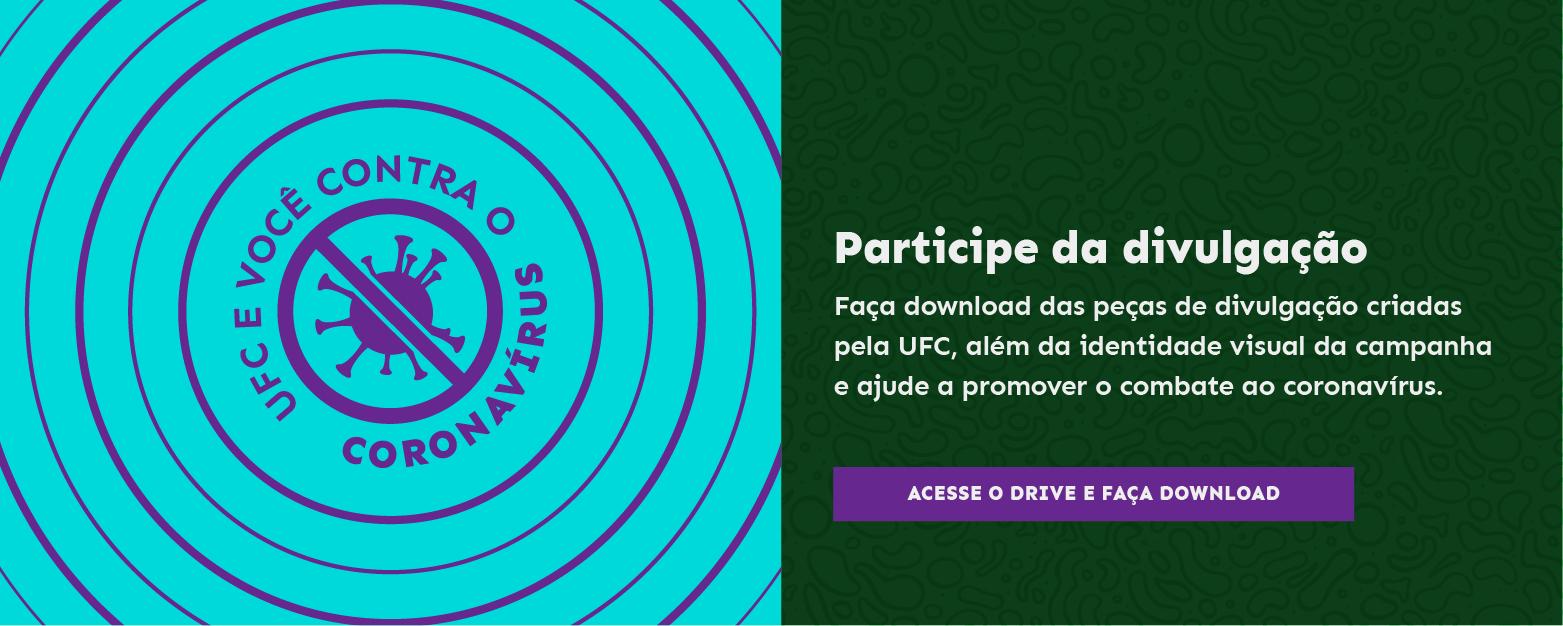 Participe da Divulgação da campanha contra o coronavírus