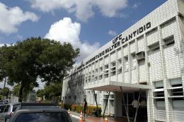 Fachada do Hospital Walter Cantídio
