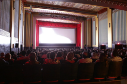 Imagem: Sala principal do Cineteatro São Luiz