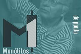 Imagem: Cartaz da exposição - Foto do Mestre Hélio ao fundo