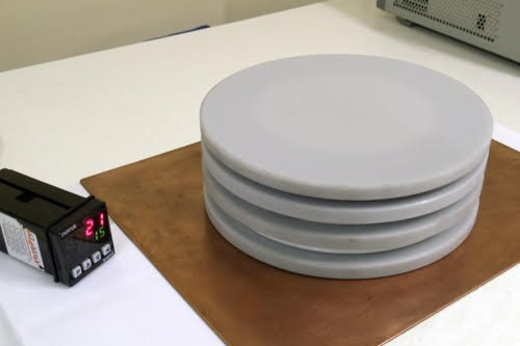Imagem: equipamento desenvolvido com a nova metodologia criada no LOCEM