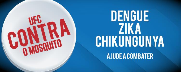 Banner institucional de combate ao mosquito aedes aegypti.
