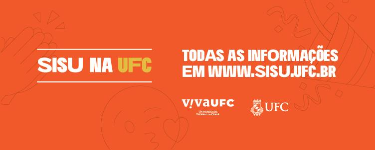 Clique e acesse o site do SISU na UFC.