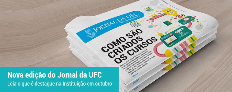 Acesse aqui a versão on-line do Jornal da UFC