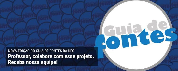 Clique e saiba mais sobre o projeto Guia de Fontes