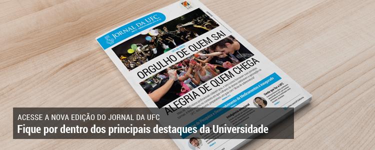Clique e acesse a versão on-line do Jornal da UFC de janeiro e fevereiro de 2015
