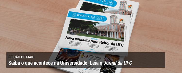 Clique e leia o Jornal da UFC de maio de 2015.